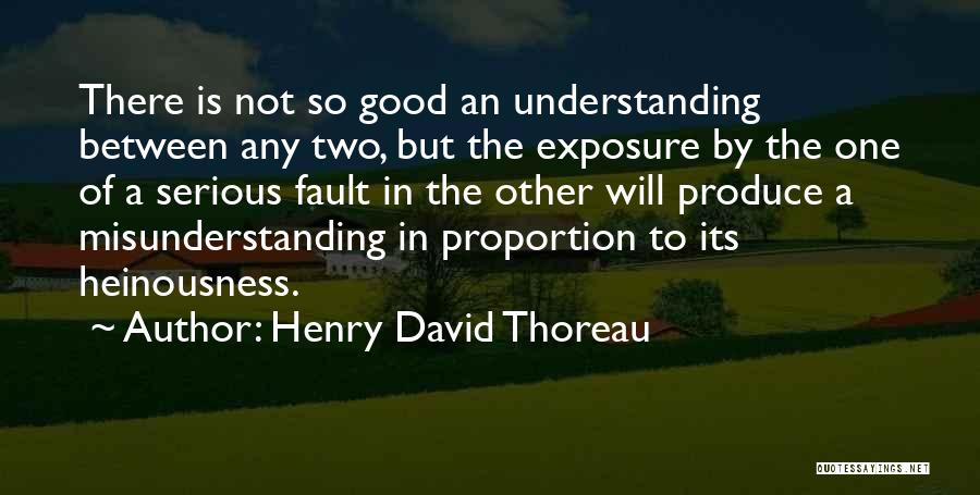 Understanding And Misunderstanding Quotes By Henry David Thoreau