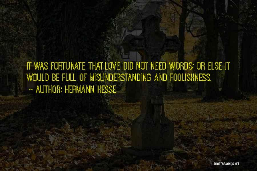 Understanding And Misunderstanding Quotes By Hermann Hesse
