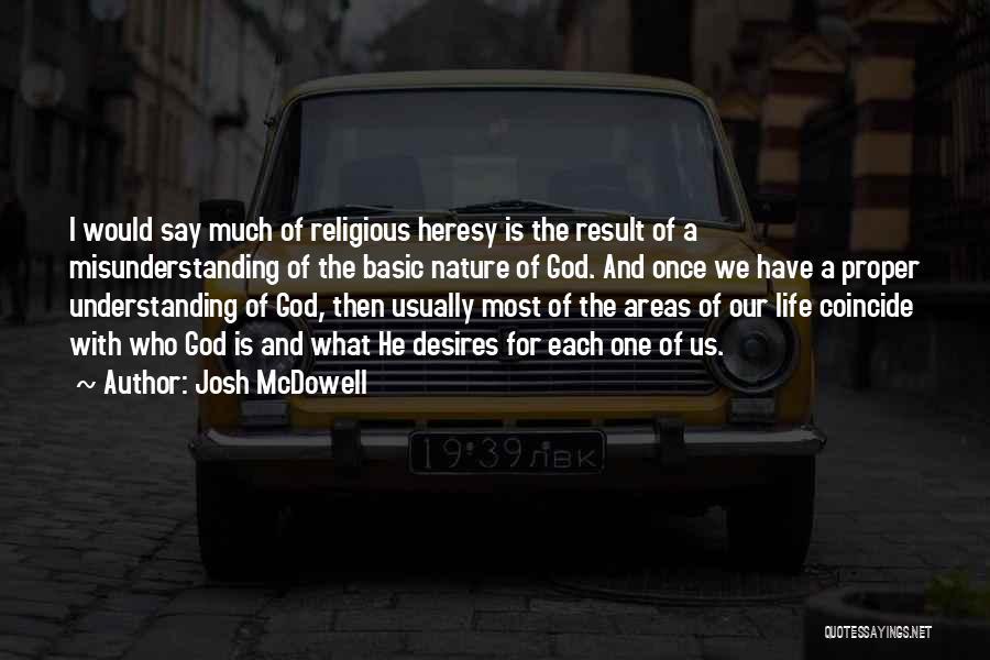 Understanding And Misunderstanding Quotes By Josh McDowell
