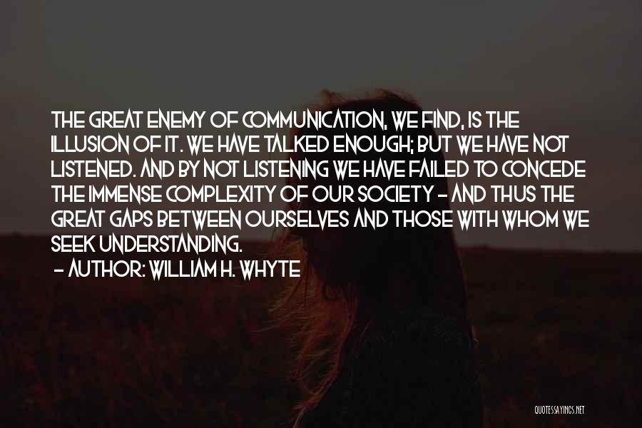 Understanding And Misunderstanding Quotes By William H. Whyte