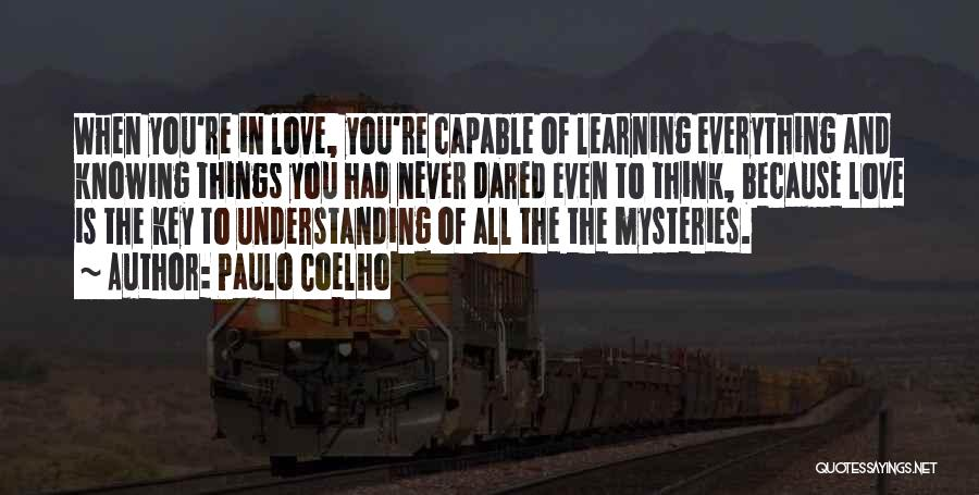 Understanding Lovers Quotes By Paulo Coelho