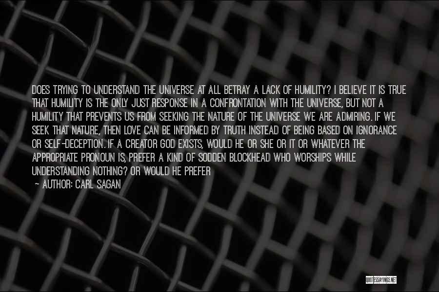 Understanding True Love Quotes By Carl Sagan