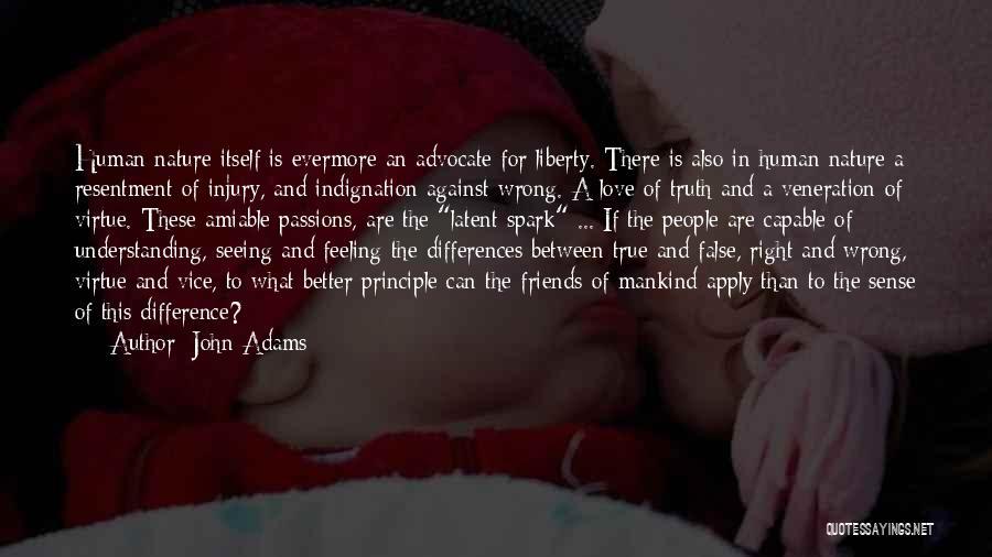 Understanding True Love Quotes By John Adams