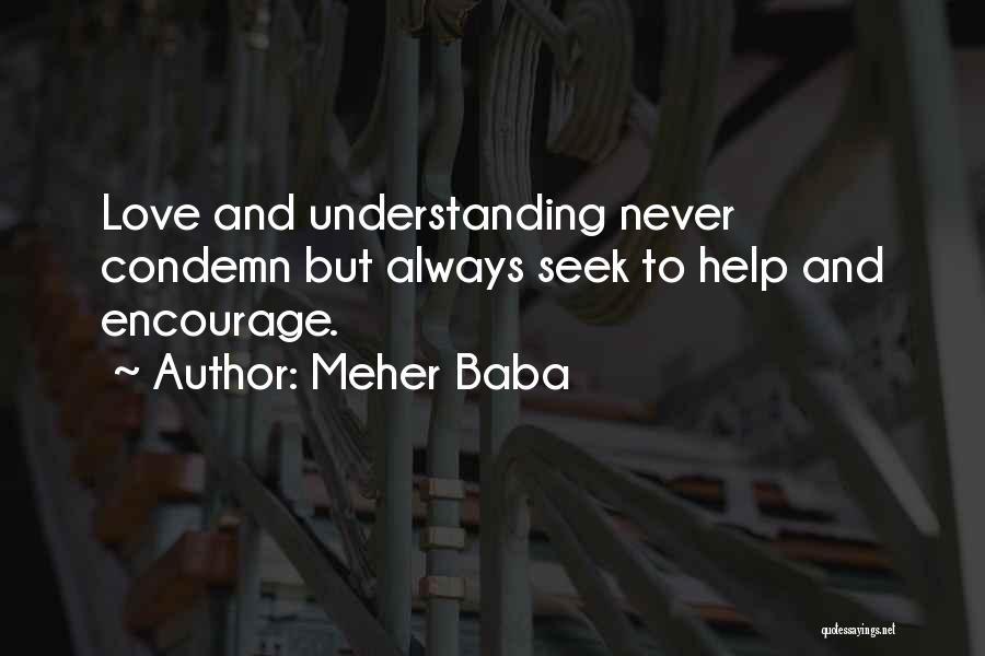 Understanding True Love Quotes By Meher Baba
