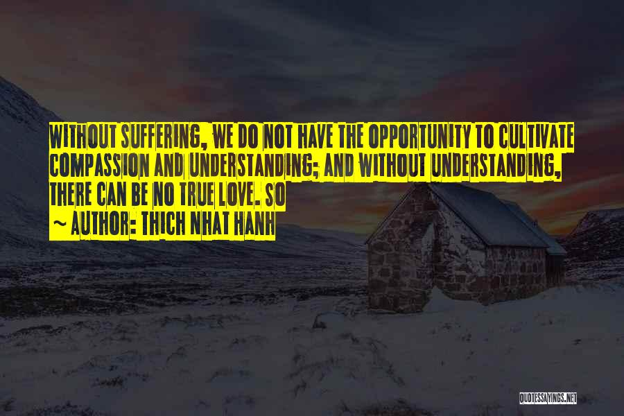 Understanding True Love Quotes By Thich Nhat Hanh