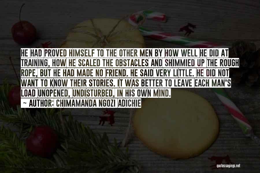 Undisturbed Quotes By Chimamanda Ngozi Adichie