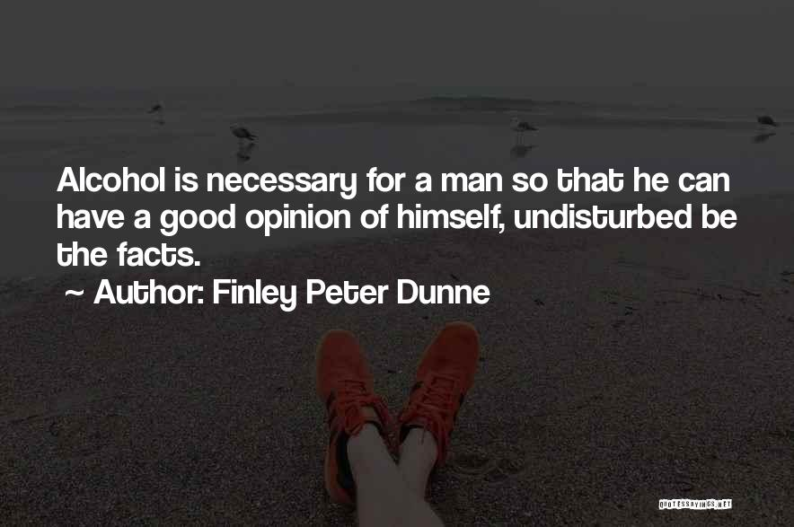 Undisturbed Quotes By Finley Peter Dunne
