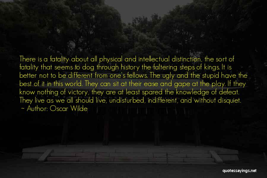 Undisturbed Quotes By Oscar Wilde