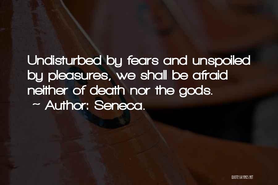 Undisturbed Quotes By Seneca.