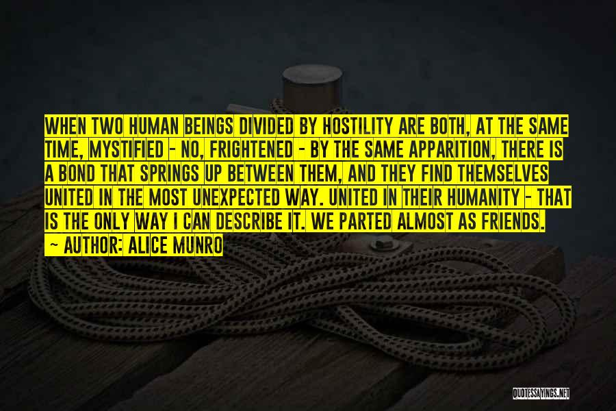 Unexpected Friends Quotes By Alice Munro