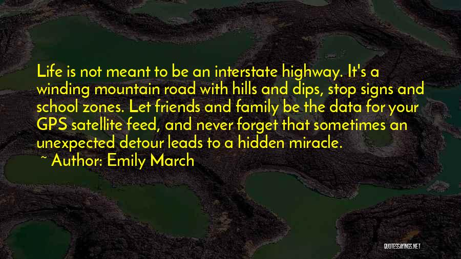 Unexpected Friends Quotes By Emily March