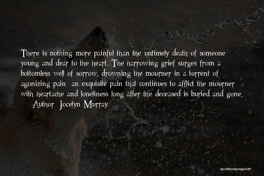 Unexpected Loss Quotes By Jocelyn Murray