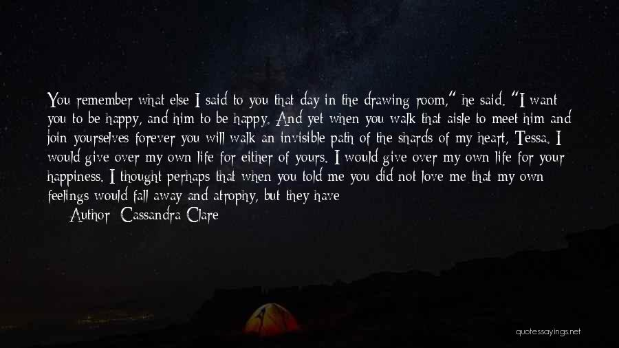 Unfair Love Quotes By Cassandra Clare