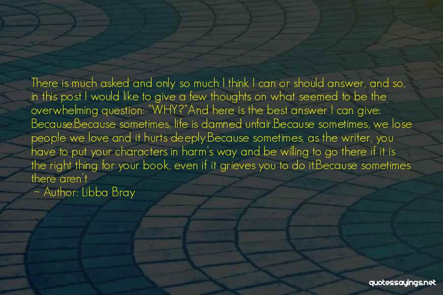 Unfair Love Quotes By Libba Bray