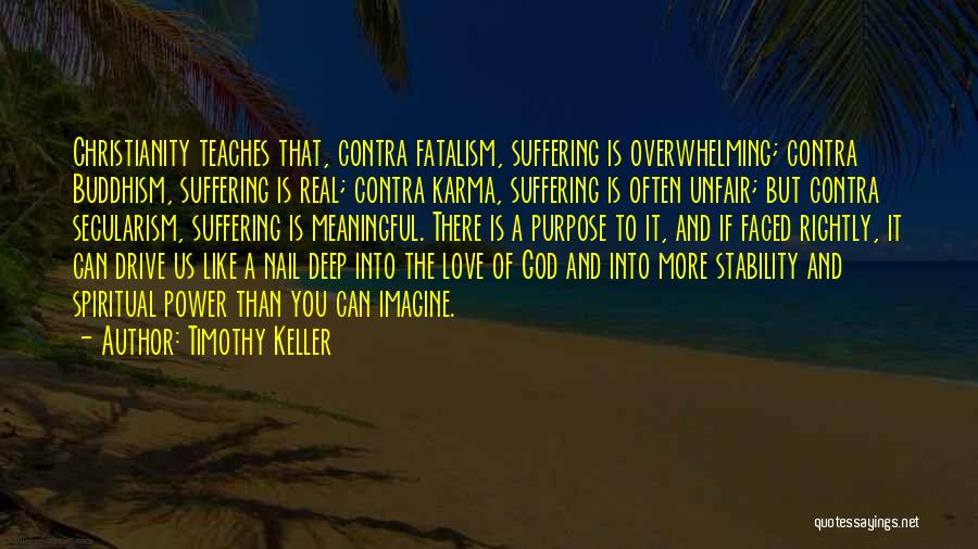 Unfair Love Quotes By Timothy Keller
