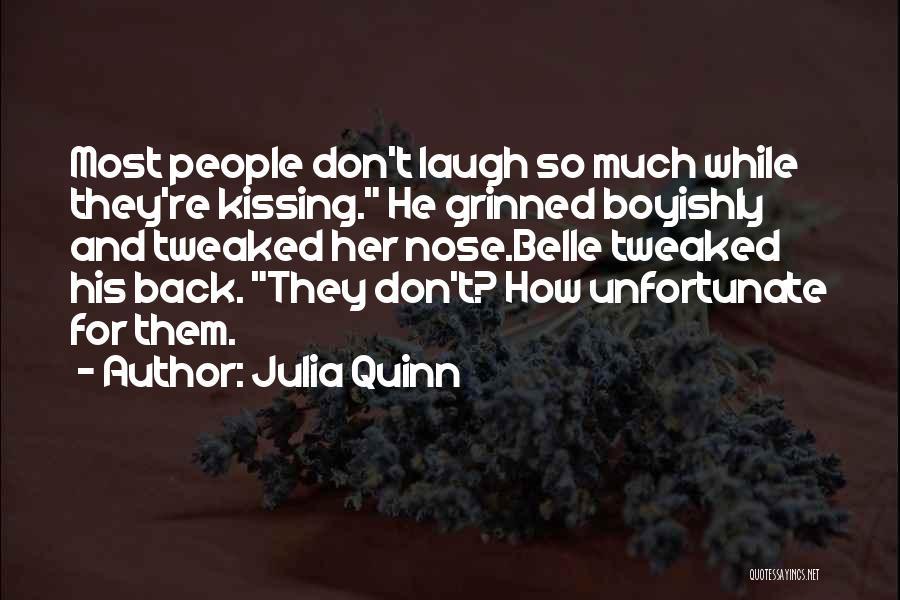 Unfortunate Love Quotes By Julia Quinn