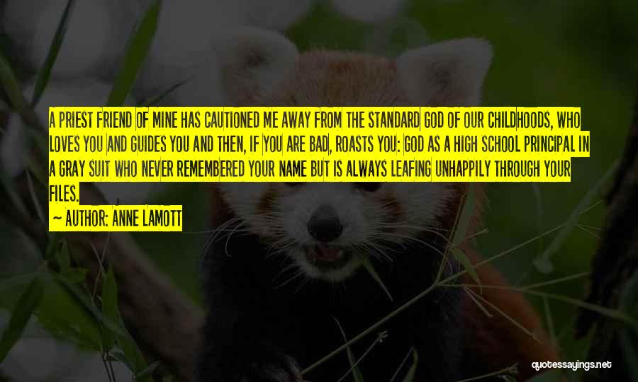 Unhappily In Love Quotes By Anne Lamott
