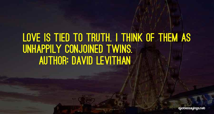 Unhappily In Love Quotes By David Levithan
