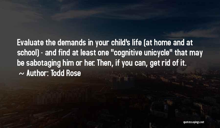 Unicycle Quotes By Todd Rose