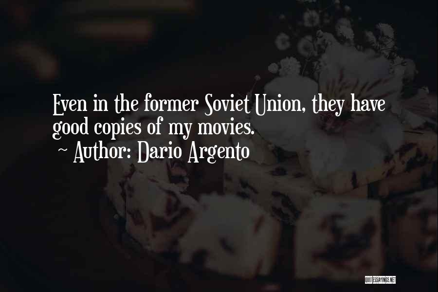 Union Quotes By Dario Argento