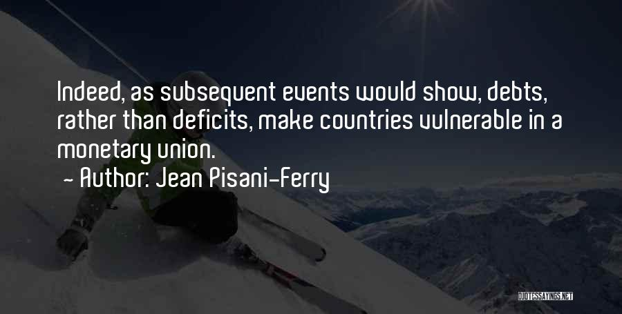 Union Quotes By Jean Pisani-Ferry