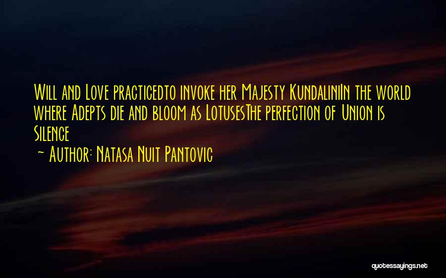 Union Quotes By Natasa Nuit Pantovic