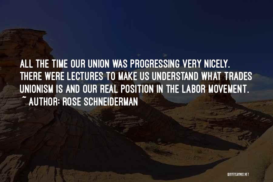 Union Quotes By Rose Schneiderman