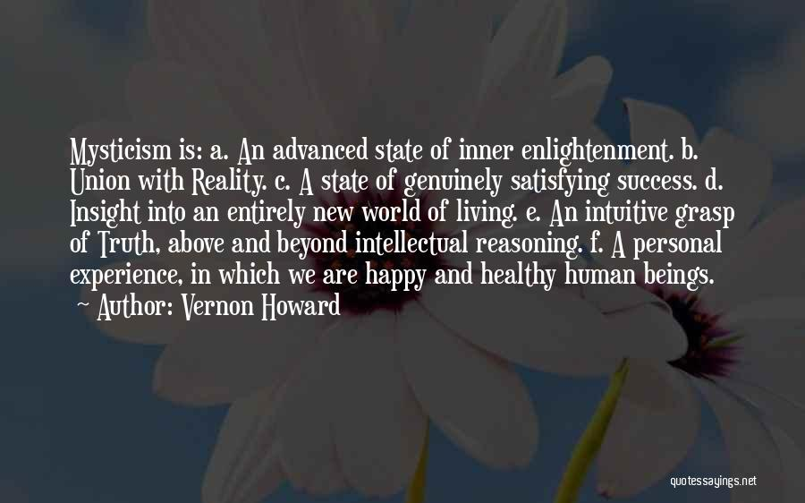 Union Quotes By Vernon Howard