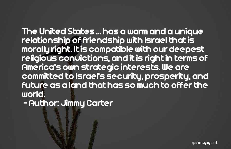 Unique Interests Quotes By Jimmy Carter