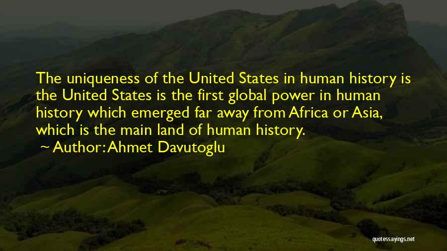 United States Of Africa Quotes By Ahmet Davutoglu