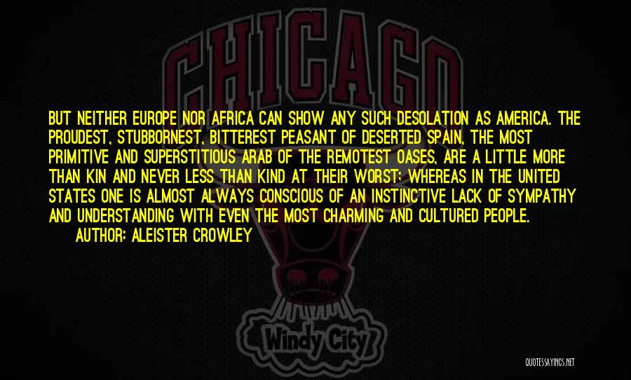 United States Of Africa Quotes By Aleister Crowley