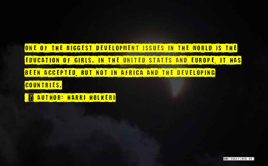 United States Of Africa Quotes By Harri Holkeri