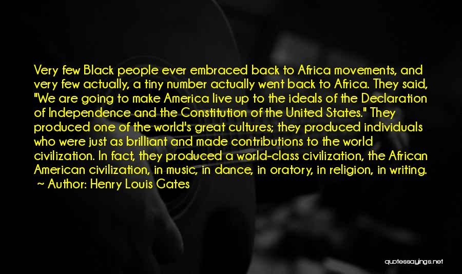 United States Of Africa Quotes By Henry Louis Gates