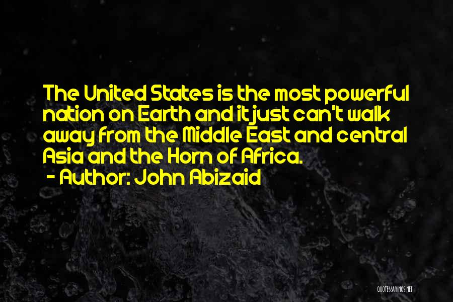 United States Of Africa Quotes By John Abizaid