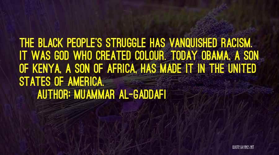 United States Of Africa Quotes By Muammar Al-Gaddafi