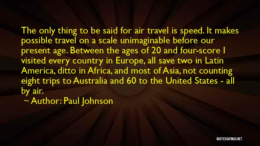 United States Of Africa Quotes By Paul Johnson