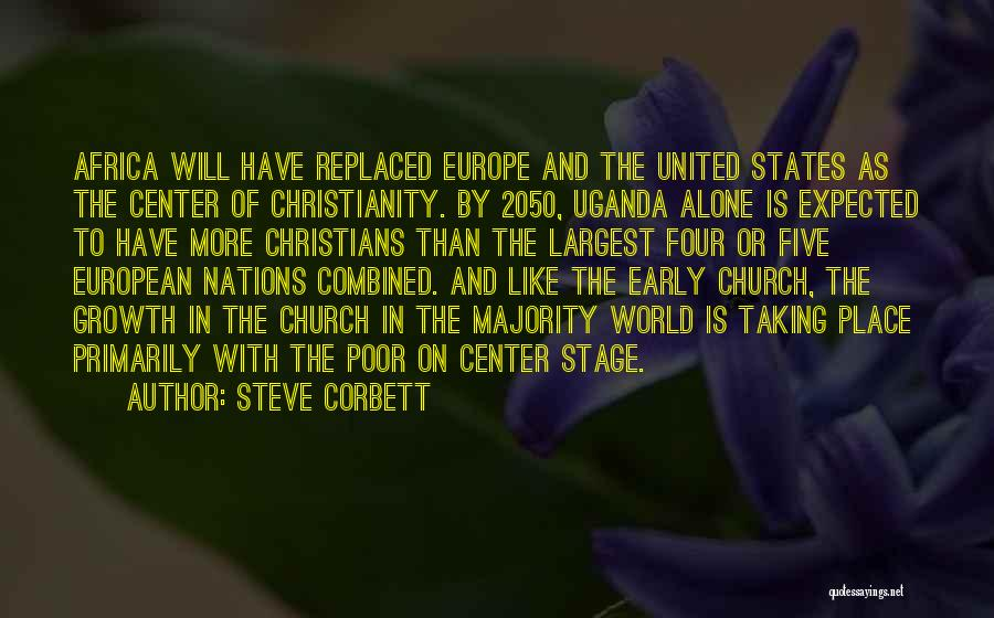 United States Of Africa Quotes By Steve Corbett