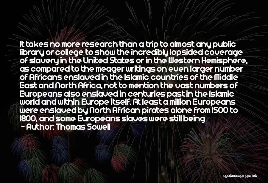 United States Of Africa Quotes By Thomas Sowell