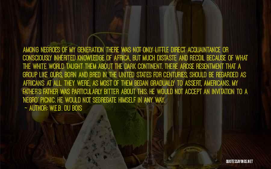 United States Of Africa Quotes By W.E.B. Du Bois