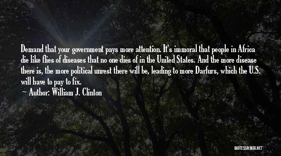 United States Of Africa Quotes By William J. Clinton