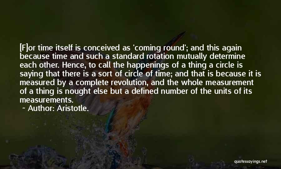 Units Quotes By Aristotle.