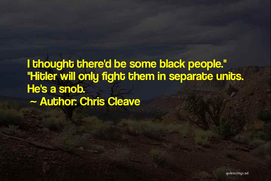 Units Quotes By Chris Cleave