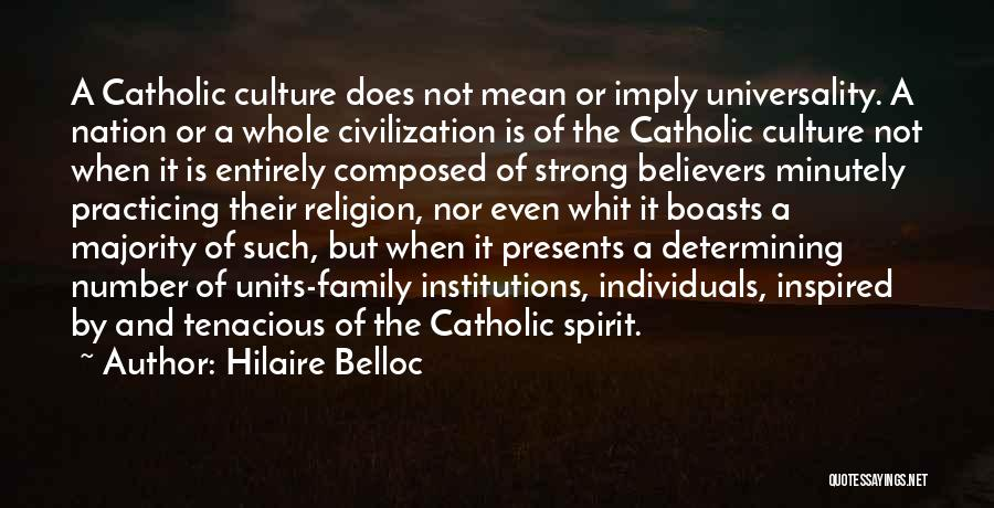 Units Quotes By Hilaire Belloc