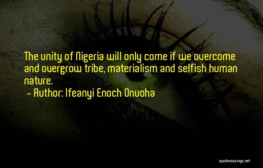 Unity And Leadership Quotes By Ifeanyi Enoch Onuoha
