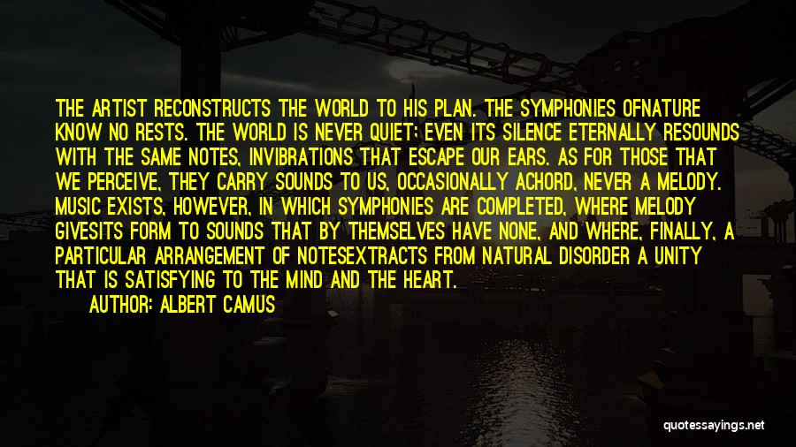 Unity And Music Quotes By Albert Camus