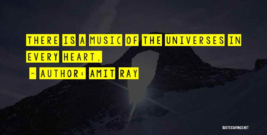 Unity And Music Quotes By Amit Ray
