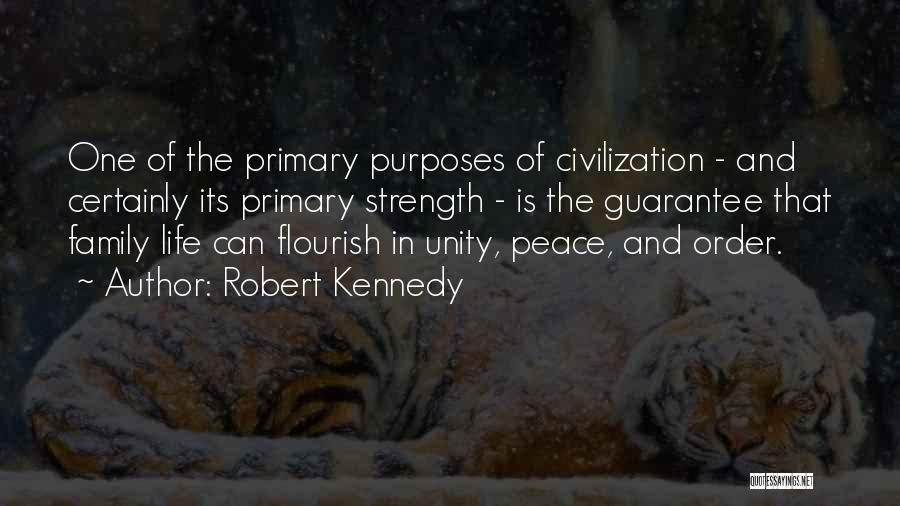Unity Is Strength Quotes By Robert Kennedy