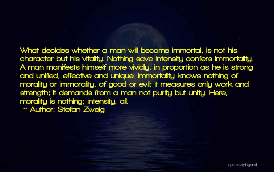 Unity Is Strength Quotes By Stefan Zweig