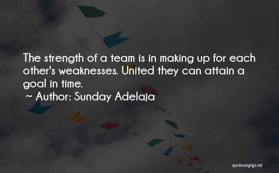 Unity Is Strength Quotes By Sunday Adelaja