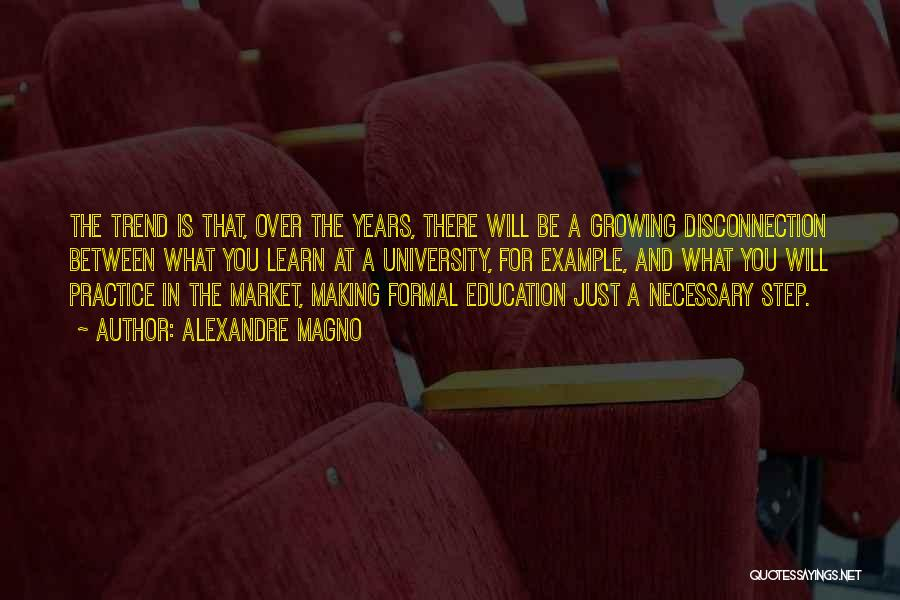 University Education Quotes By Alexandre Magno